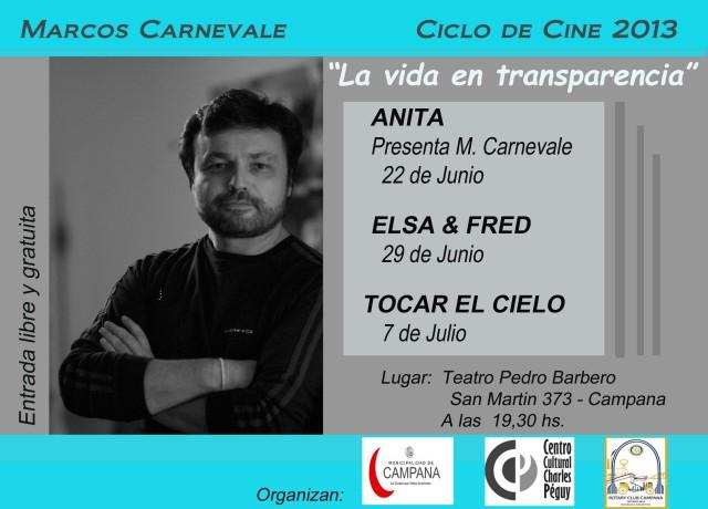 Ciclo de cine en Campana